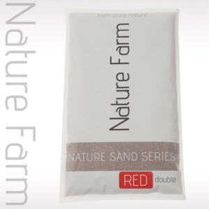 Nature Sand RED double 2kg 네이처 샌드 레드 더블 2kg (1.2mm~2.3mm)