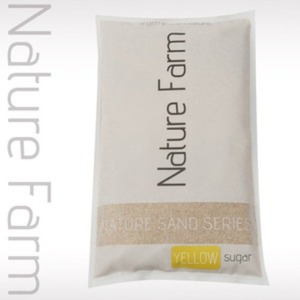 Natue Sand YELLOW 3.5kg 네이처 샌드 옐로우 슈가 3.5kg (0.2mm~0.5mm)