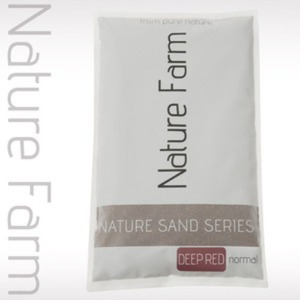 Nature Sand DEEP RED normal 4kg 네이처 샌드 딥레드 노멀 4kg (0.3mm~0.8mm)